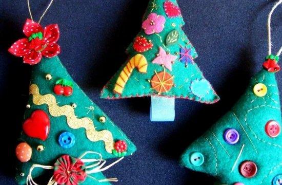 Украшения на новогоднюю елку своими руками