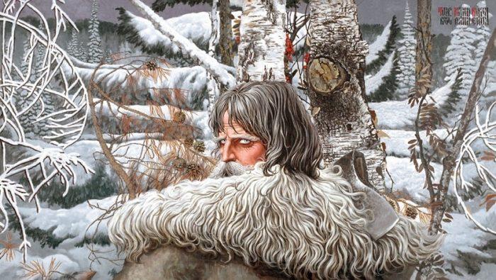 Былинно-мифологические картины художника Константина Васильева