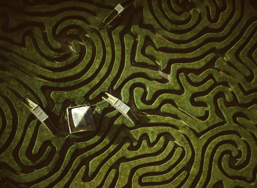 Самый длинный в мире лабиринт протяженностью 3 км, пройти который — настоящий квест