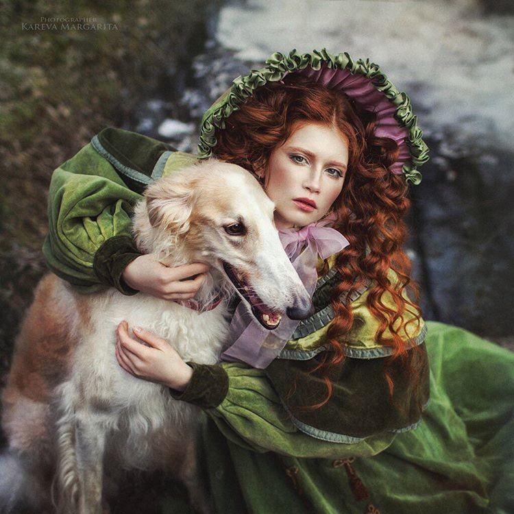 Волшебные фотографии российского фотографа Маргариты Каревой