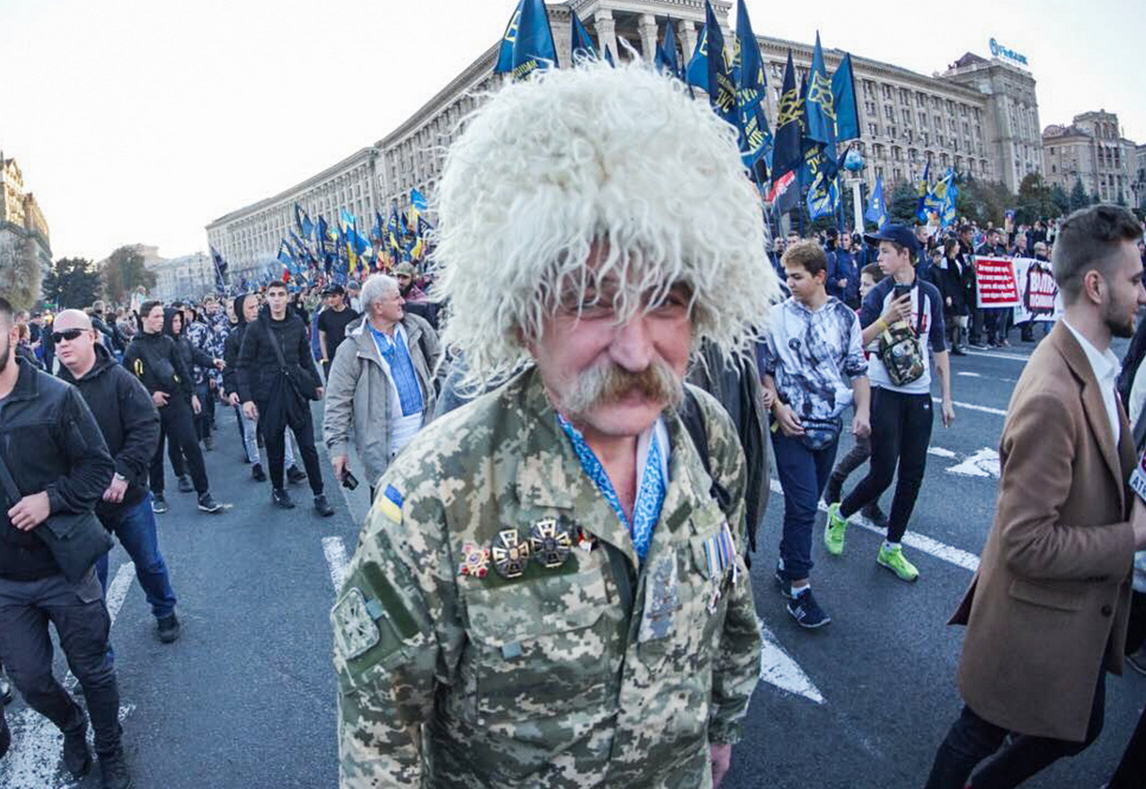 Украинская версия Хеллоуина. Нюра Н. Берг