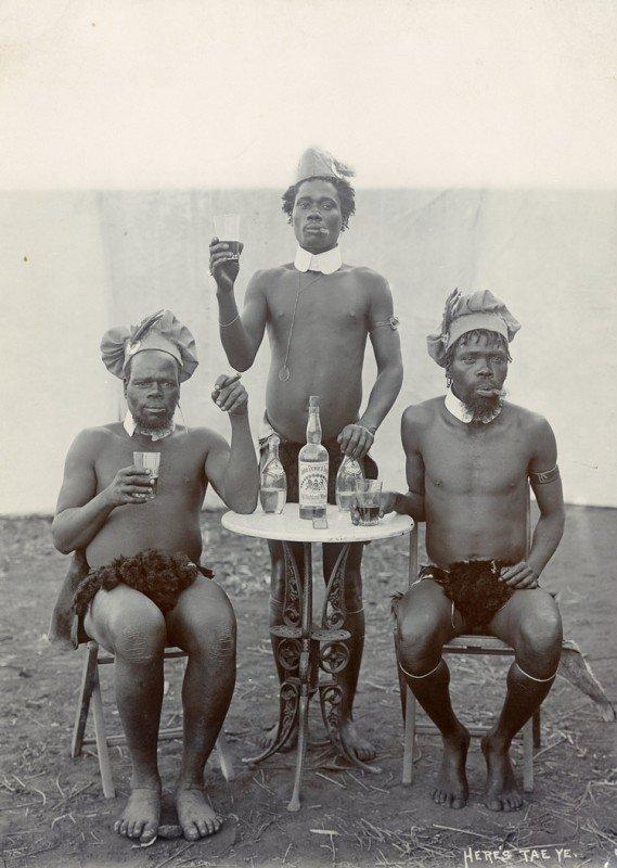 На троих. 1903 год, ЮАР история, люди, мир, фото