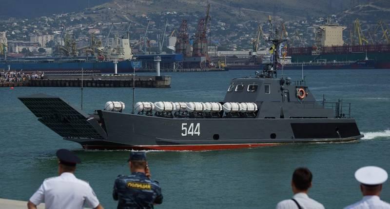 Морская «Серна». Десантные катера проекта 11770