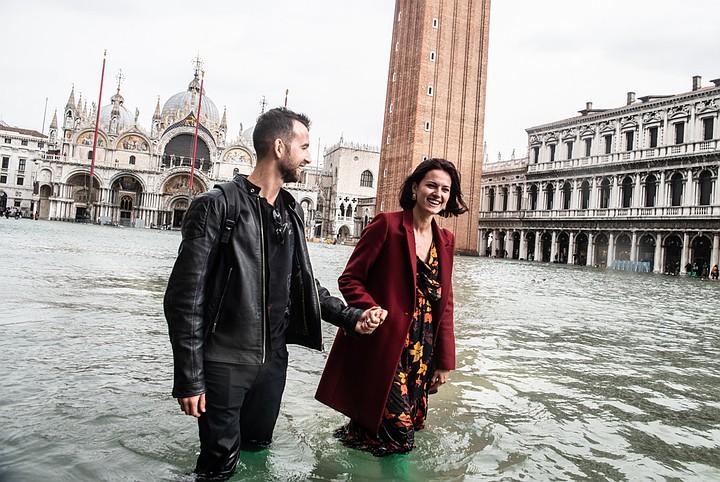 В Венеции около 75% территории затопило из-за шторма