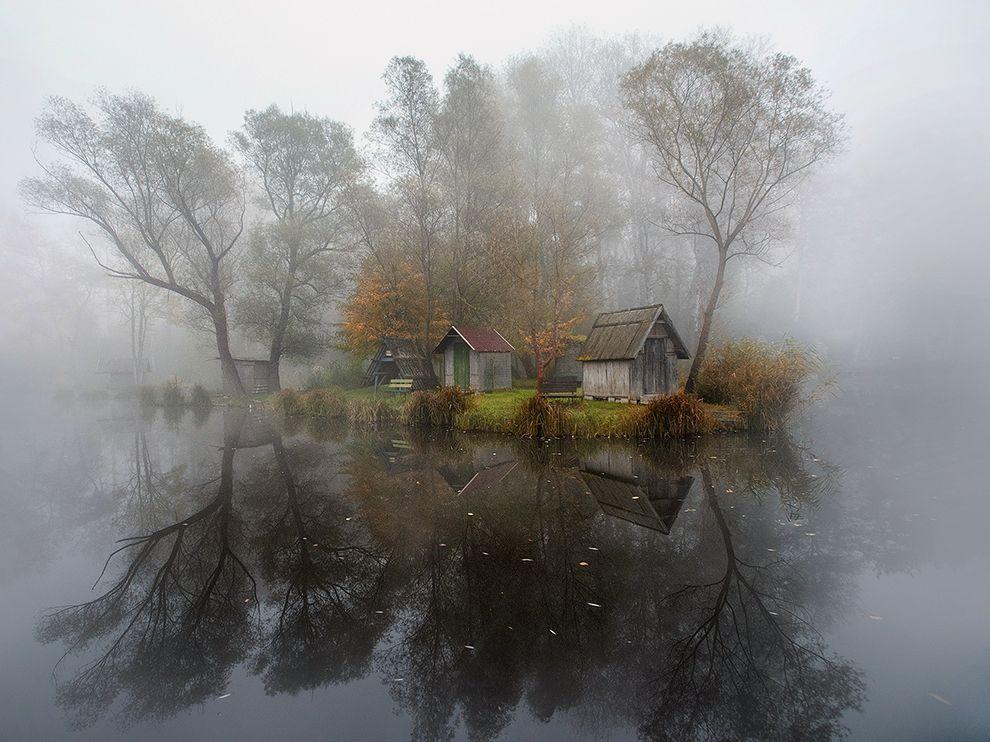 Деревня в Венгрии