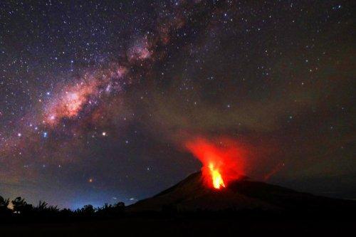 Самые недавние извержения ву…
