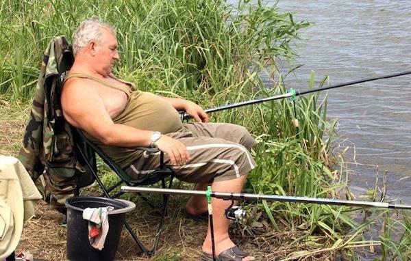 Если выпил рыболов − не видать ему улов