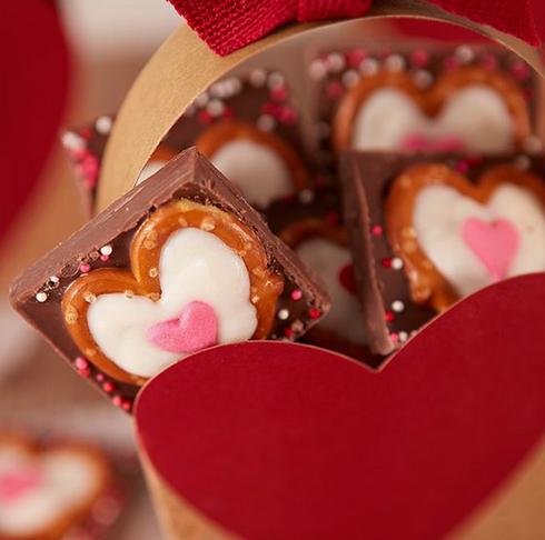 Солено-сладкие конфеты на 14 февраля (Diy)