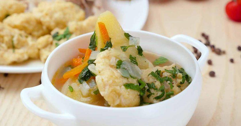 Суп с клецками по-цыгански