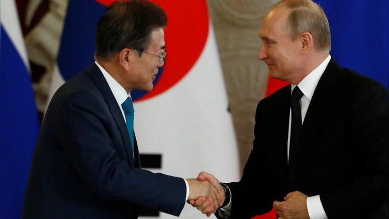 FT: Москва и Сеул договорили…