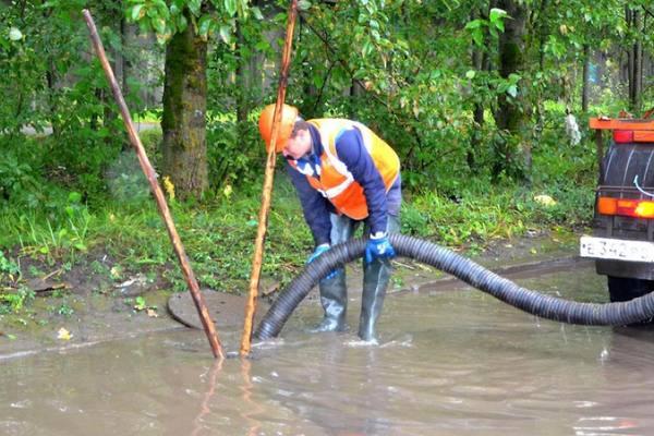 Мэрия отчиталась об откачке воды и уборке мусора после наводнения в Чите