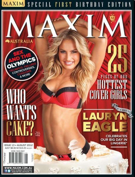 Maxim #8 (August/2012/Australia)