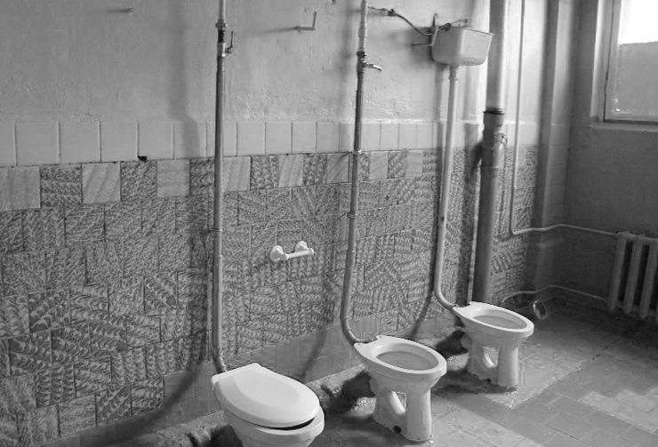 Туалеты без дверей