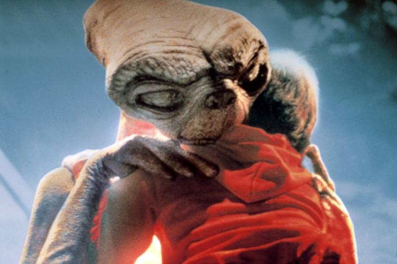 Инопланетянин. 80-е, дети, кино, фильмы