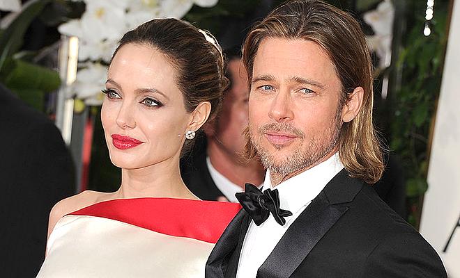 Анджелина Джоли и Брэд Питт …