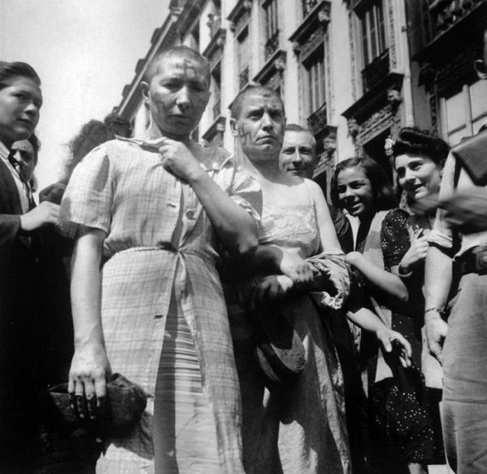 Вот что после войны делали с женщинами, имевшими отношения с немецкими солдатами