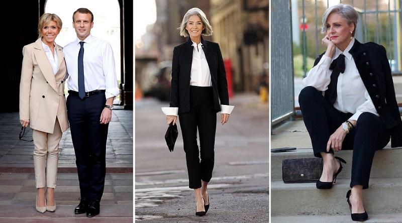 стильная одежда для женщин за 50