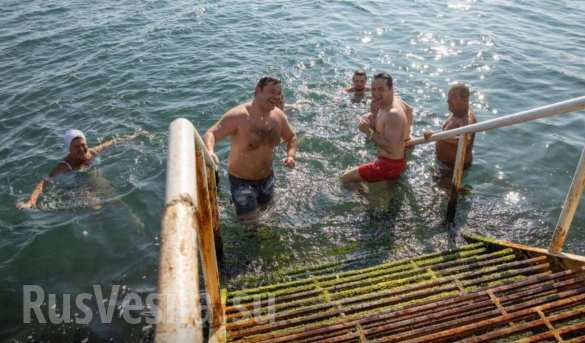 Красные труселя и жена Богдан: Как отдыхают в Одэсе