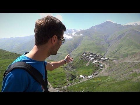 Уникальное место на земле - Хыналы, Азербайджан