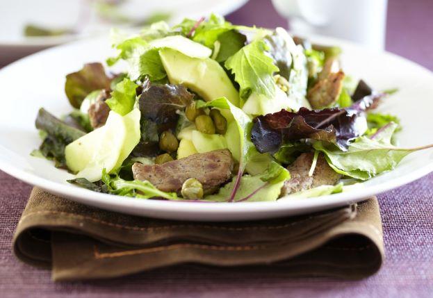 Теплый салат из вешенок