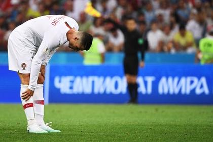 Роналду вылетел с чемпионата мира вслед за Месси