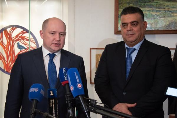 Делегация Сирия посетила Севастополь