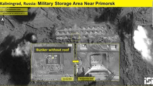 CNN уличила Россию в строительстве «ядерного бункера» под Калининградом