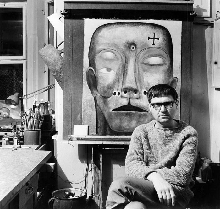 Самые страшные картины в мире: творчество польского сюрреалиста Здзислава Бексиньского