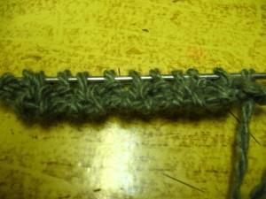 Итальянский набор петель. (уроки вязания спицами)