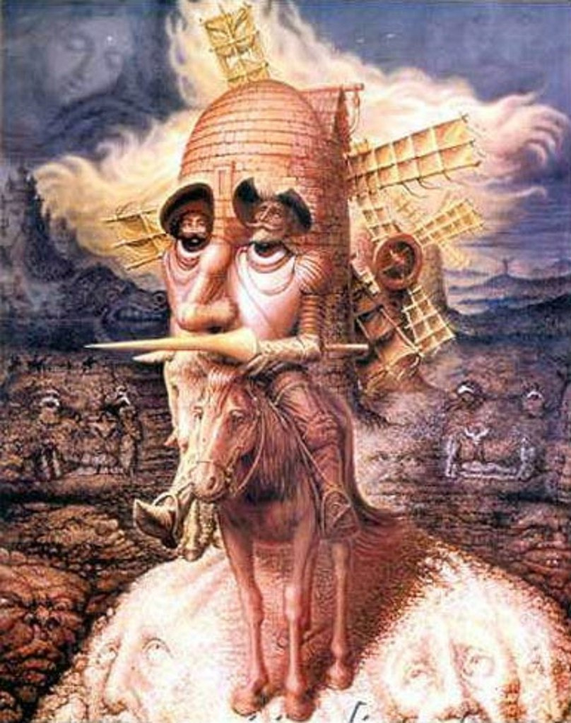 Картины художника Октавио Окампо 10