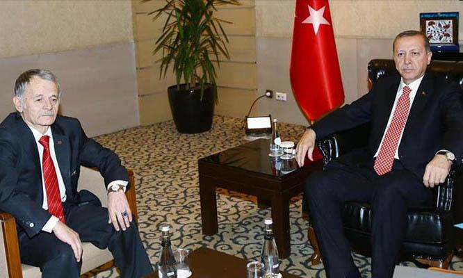Эрдоган бросил кость своему псу Джемилеву, пообещав дать денег на мечеть в Киеве