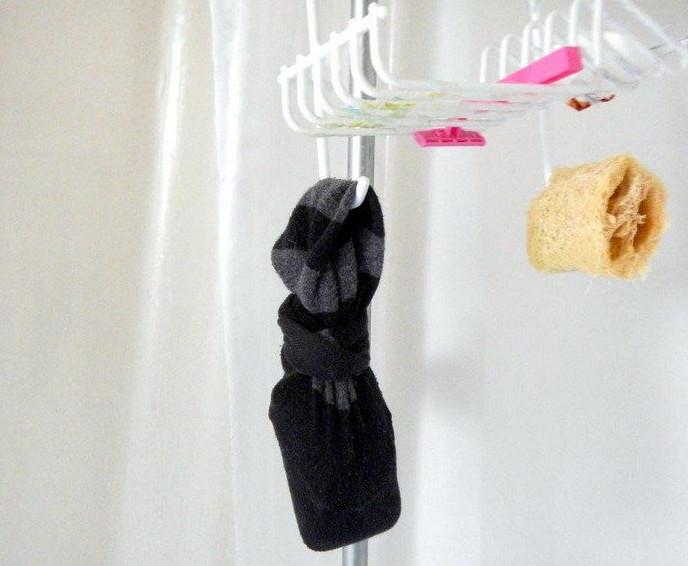 20 полезных применений одинокому носку... Ну очень жизненные лайфхаки!