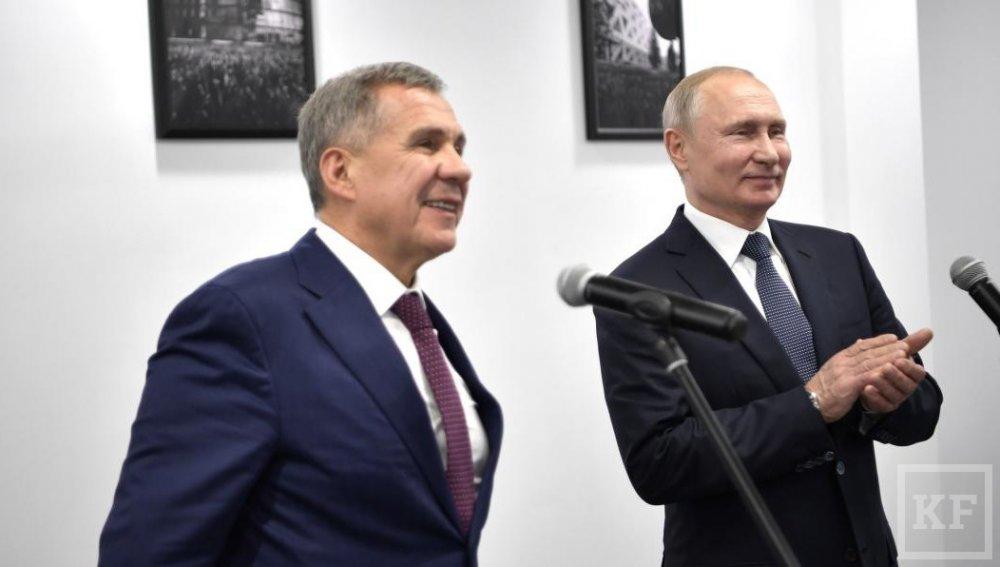 Песков объяснил шутки Путина в адрес Рустама Минниханова