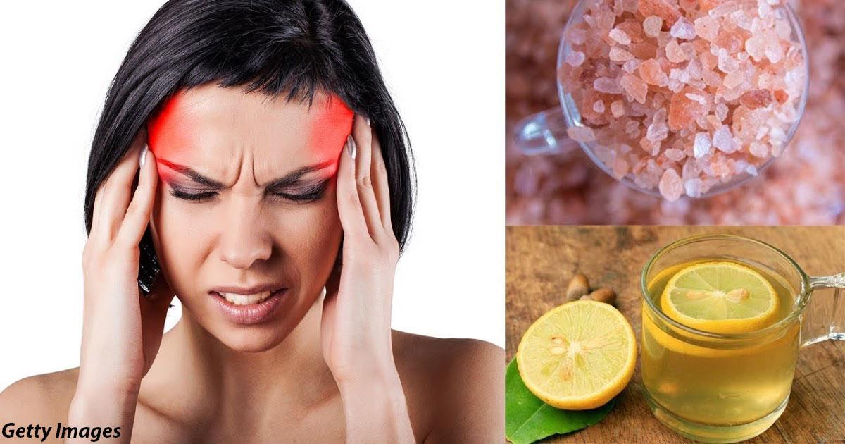 Лимонный сок с солью может остановить мигрень за пару минут. Вот что делать