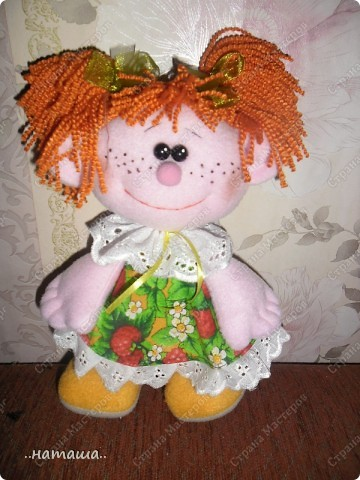 Игрушка, Куклы Шитьё: Куклята Пряжа, Пуговицы, Ткань. Фото 16