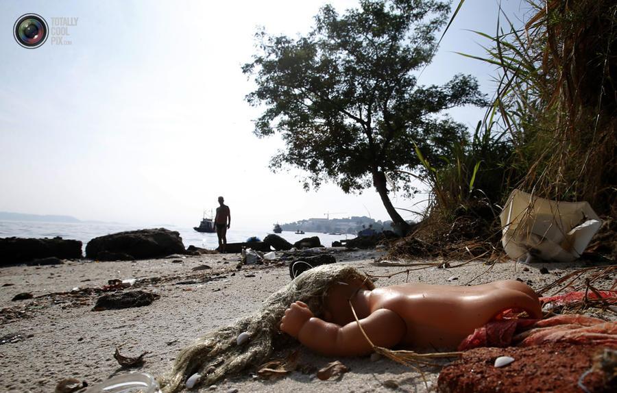 Грязные пляжи Бразилии