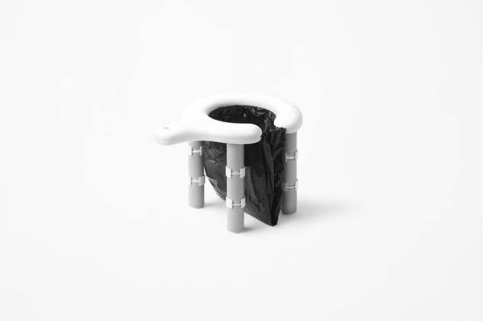 Миниатюрный инновационный туалет. Разумеется, из Японии