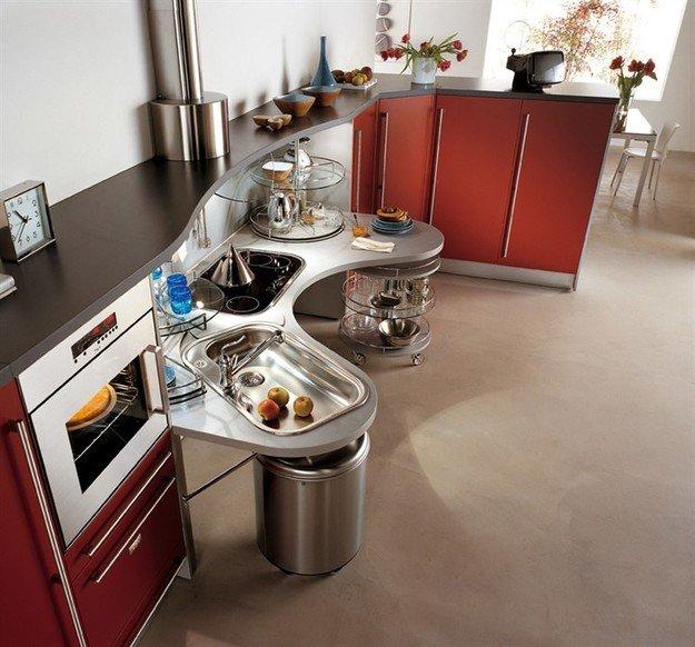 Дизайн, который полезен в быту: проект кухни для людей с нарушениями двигательных функций