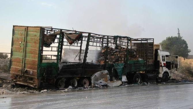 Срочная информация от разведки: Боевики готовят нападение на конвои ООН, чтобы спровоцировать агрессию США против Сирии
