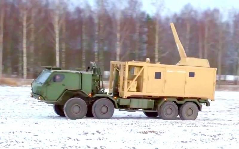 Скандинавский монстр: «контейнерная» артиллерия показали свои возможности