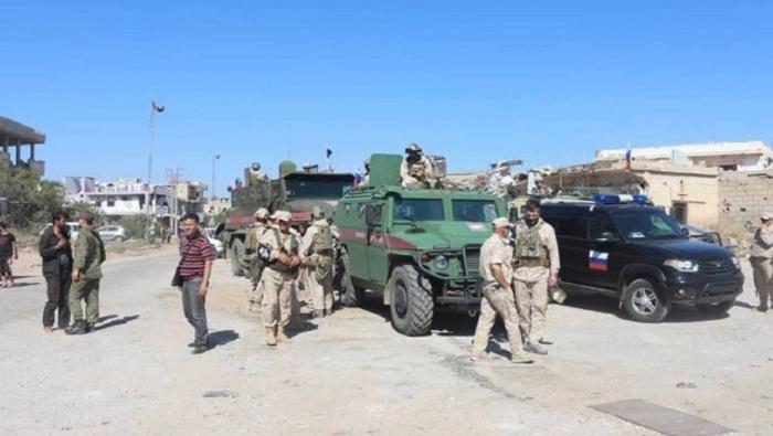 Российские военные начали патрулирование на границе с Израилем