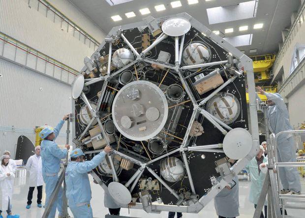 Начались испытания конструкторского макета посадочного модуля «ЭкзоМарс-2020»