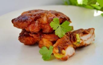 Рубленые куриные котлеты с кабачком