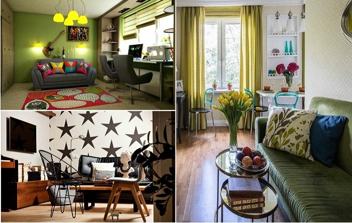 17 актуальных идей обустройства гостиной, которые подойдут нашим «хрущевкам» или «панелькам»