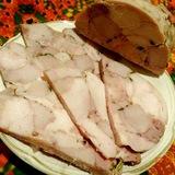 Ветчина прессованая свино-куриная в мультиварке