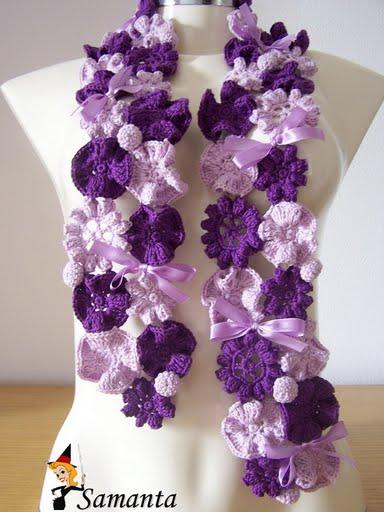 Как вам эти необычные шарфы?