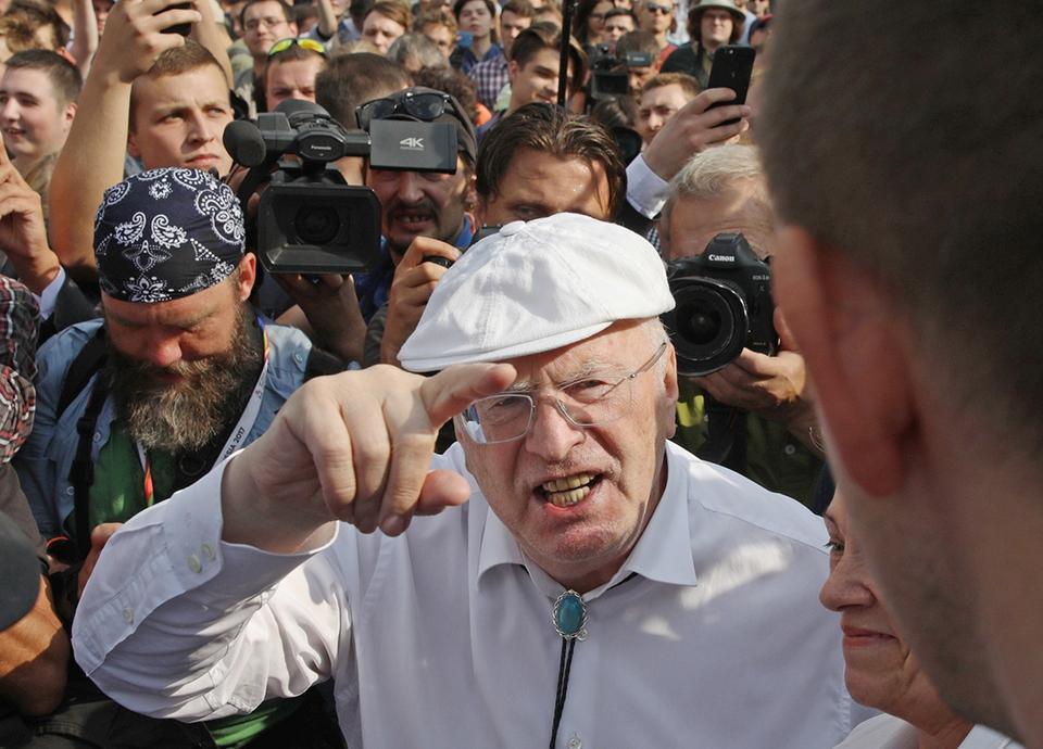 Политолог уличил Жириновског…