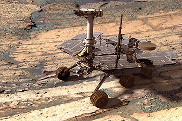 На Марсе обнаружен артефакт с надписью