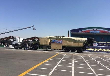 Иран показал новую баллистическую ракету средней дальности «Хорремшехр»