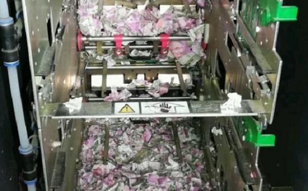 ВИндии мыши уничтожили один млн рупий вбанкомате